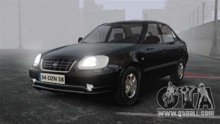 Hyundai Accent Admire for GTA 4