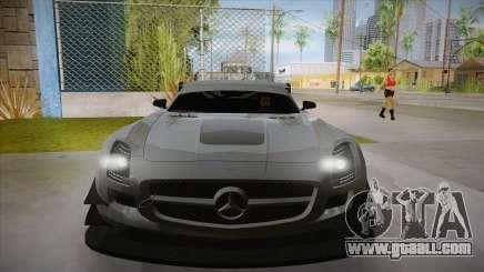 Mercedes-Benz SLS (AMG) GT3 for GTA San Andreas