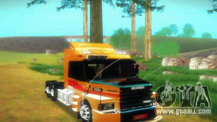 TopLine Scania 113 h 360 for GTA San Andreas