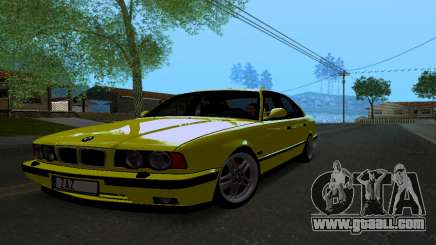 BMW M5 E34 IVLM v2.0.2 for GTA San Andreas