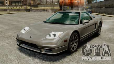 Acura NSX for GTA 4