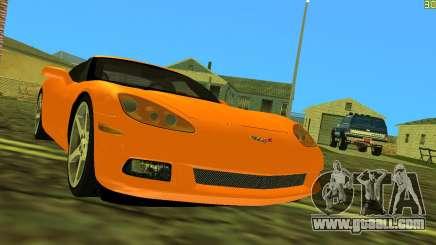Chevrolet Corvette C6 for GTA Vice City