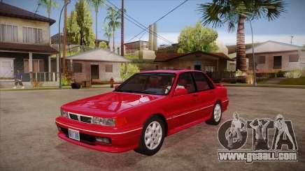 Mitsubishi Galant VR-4 (E39A) 1987 HQLM for GTA San Andreas