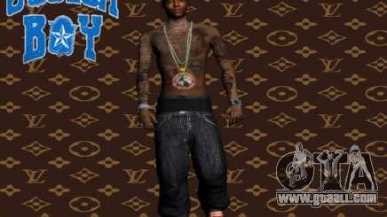 Soulja Boy skin for GTA San Andreas