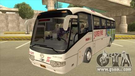 Higer KLQ6129QE - Super Five Transport S 025 for GTA San Andreas