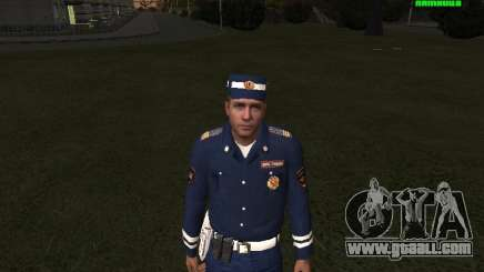 DPS Sergeant for GTA San Andreas