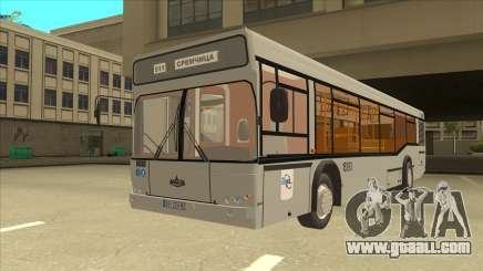 511 Sremcica Bus for GTA San Andreas