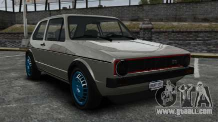 Volkswagen Golf MK1 GTI Update v2 for GTA 4
