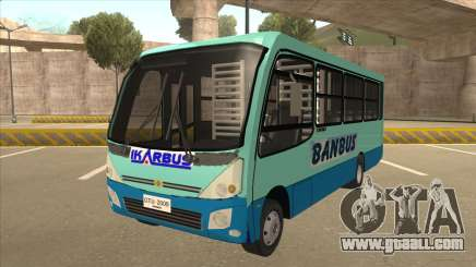 BANBUS Bus Srb. for GTA San Andreas