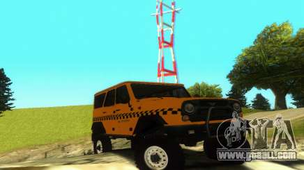Uaz Hunter Taxi for GTA San Andreas