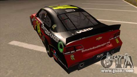 Chevrolet SS NASCAR No. 24 AARP for GTA San Andreas back view