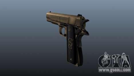 Pistol M1911 v2 for GTA 4 second screenshot