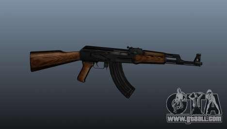 AK-47 v2 for GTA 4 third screenshot
