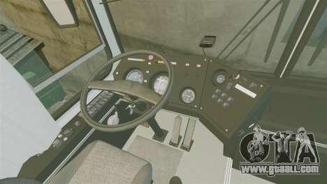 LIAZ-5256 45-01 for GTA 4 back view