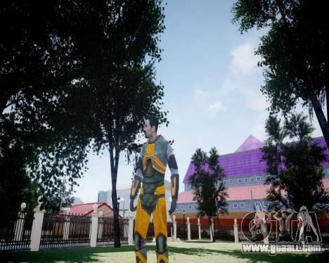 Gordon Freeman for GTA 4 sixth screenshot