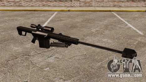 The Barrett M82 sniper rifle v2 for GTA 4