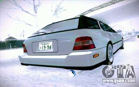 Honda Accord Wagon for GTA San Andreas back view