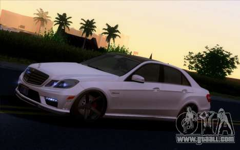Mercedes-Benz E63 AMG Vossen V1.0 for GTA San Andreas