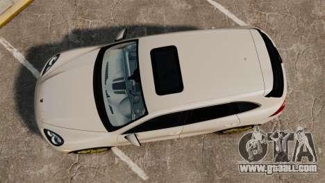 Porsche Cayenne Turbo 2012 v3.5 for GTA 4 right view