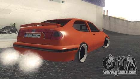 Seat Cordoba SX for GTA San Andreas back left view