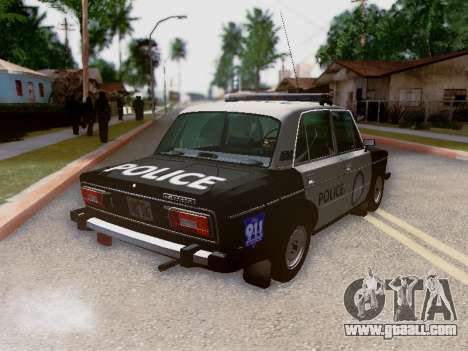VAZ 2106 Los Santos Police for GTA San Andreas