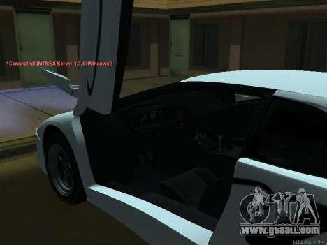 Lamborghini Diablo SV v2 for GTA San Andreas back view