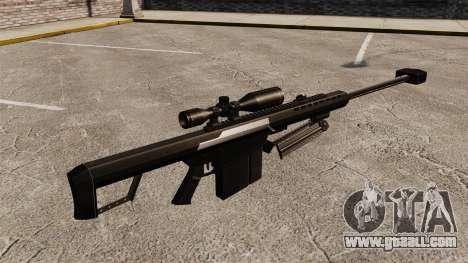 The Barrett M82 sniper rifle v2 for GTA 4 second screenshot