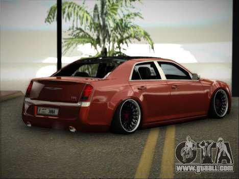 Chrysler 300C Stance for GTA San Andreas left view