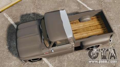 Chevrolet C-10 Stepside v2 for GTA 4 right view