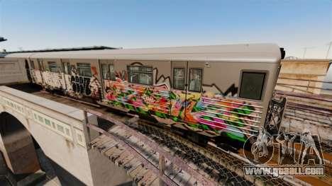 New Subway graffiti for v3 for GTA 4