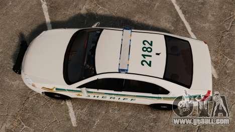 Chevrolet Impala BCSD 2010 [ELS] for GTA 4 right view