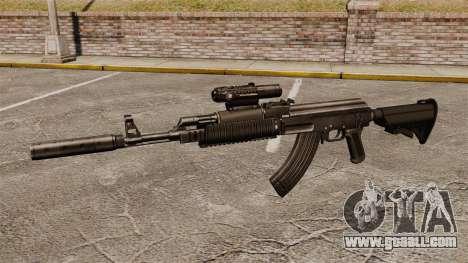 AK-47 (tactical) for GTA 4 third screenshot