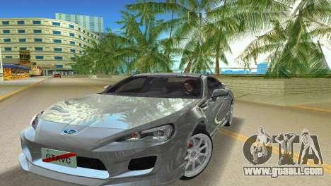 Subaru BRZ Type 3 for GTA Vice City