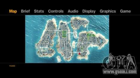 Map-Radar-HUD Pack for GTA 4 second screenshot