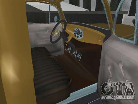 Ford Frieghter 1949 for GTA San Andreas inner view
