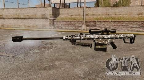 The Barrett M82 sniper rifle v15 for GTA 4 third screenshot