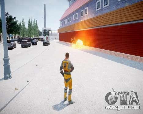 Gordon Freeman for GTA 4 forth screenshot