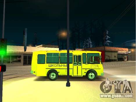 GROOVE 32053-70 School for GTA San Andreas back left view