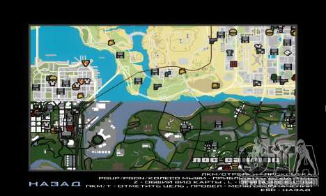 GTA V atlas map for GTA San Andreas