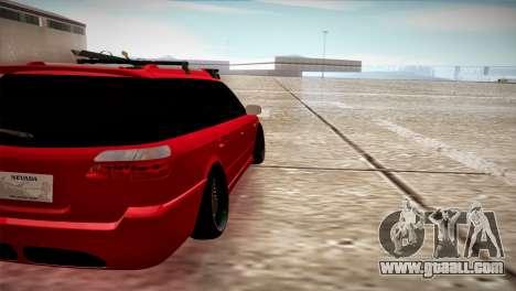 Subaru Legacy Wagon Hellaflush for GTA San Andreas back left view