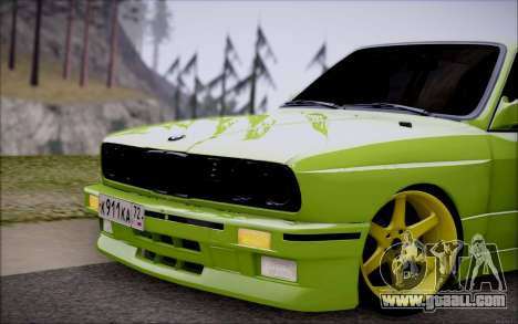BMW M3 E30 for GTA San Andreas left view