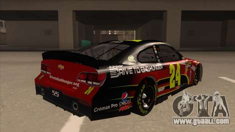 Chevrolet SS NASCAR No. 24 AARP for GTA San Andreas right view