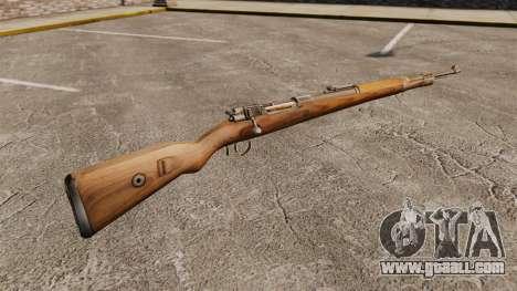 Mauser Karabiner 98 k repeating rifle for GTA 4 second screenshot