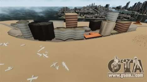 Destination Deserted City for GTA 4 second screenshot