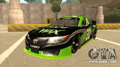 Toyota Camry NASCAR No. 30 Widow Wax for GTA San Andreas