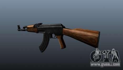 AK-47 v2 for GTA 4 second screenshot