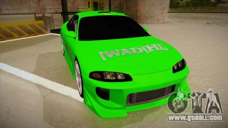 Mitsubishi Eclipse GSX 1996 [WAD]HD for GTA San Andreas left view