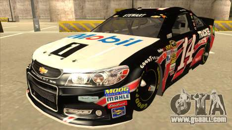 Chevrolet SS NASCAR No. 14 Mobil 1 Tracker Boats for GTA San Andreas