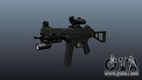 UMP45 submachine gun v1 for GTA 4