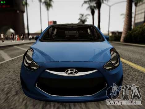 Hyundai ix20 for GTA San Andreas inner view